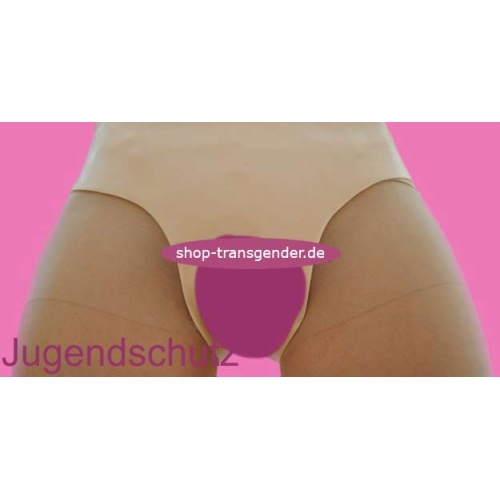 V-Slip with incorporated buttocks, vagina