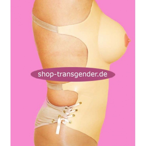 Silikonanzug PerfectTrans, weibliche Kurven