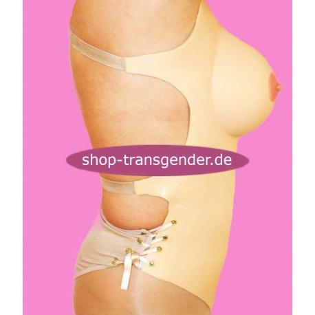 Silicone suit PerfectTrans, female curves