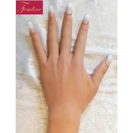 Realistische Silikon-Frauenarme Perfekte Frauenhände, weibliche Kurven