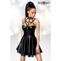 Wetlook-Kleid-Harness