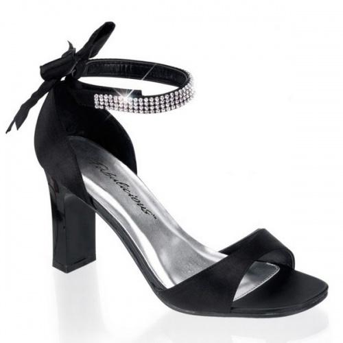 Sandalette super süss mit großer Schleife, Schuhe