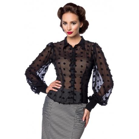 Vintage-Bluse, Bekleidung