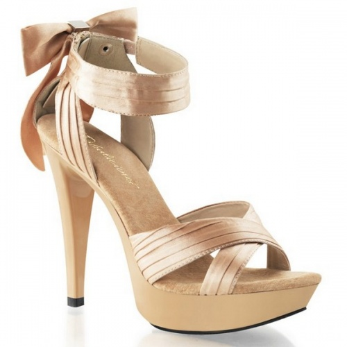 Feminine sandal with platform sole shoes, price 79,90€