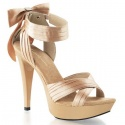 Feminine sandal with platform sole