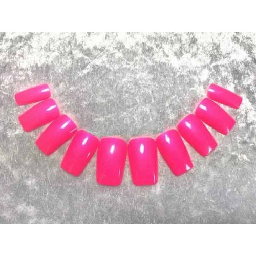 Künstliche Fingernägel in Pink Zubehör & Make-Up, Preis 16,90€