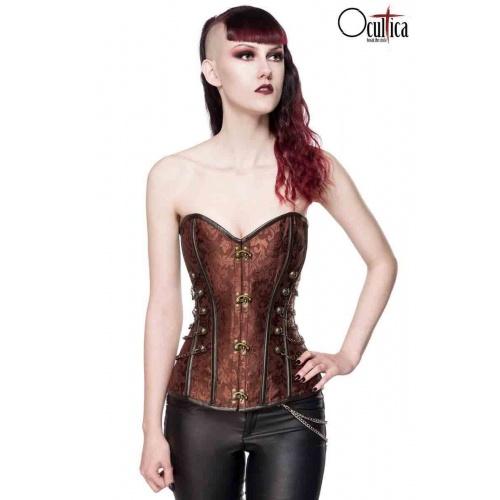 Corsage, corset of brocade, Lingerie & Corsagen (Corset)