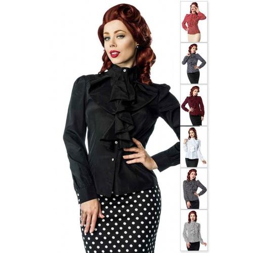 Ruffle blouse, blouses - Tops - Tops
