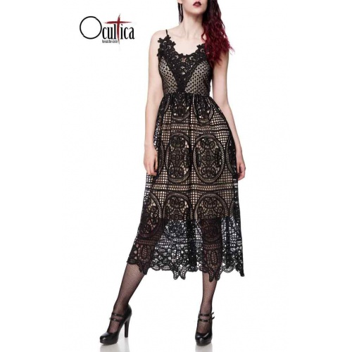 Dress in fine lace by Ocultica, dresses & skirts