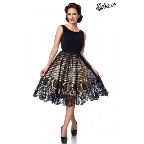 Swingkleid mit Spitze, Kleider & Röcke