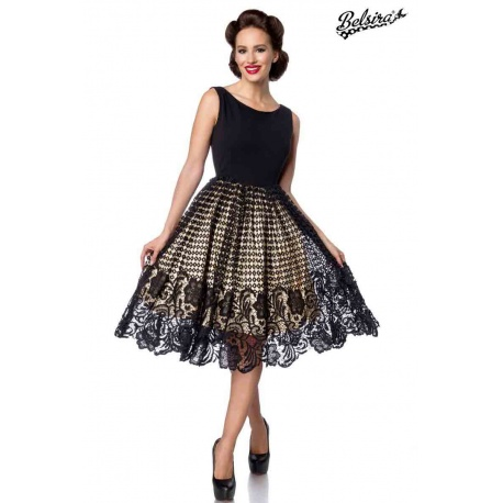 Swing dress with lace, Dresses & Skirts