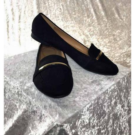 Loafer in Schwarz, Schuhe