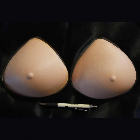Foam rubber breasts, Silicone breasts or adhesion