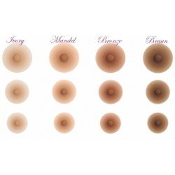Nipples Amolux accessories for breasts, gluing & cleaning, price 24,90€