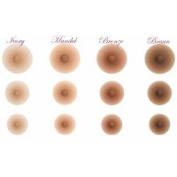Brustwarzen Amolux 1 Paar Zubehör für Silikonbrüste, Preis 19,90€