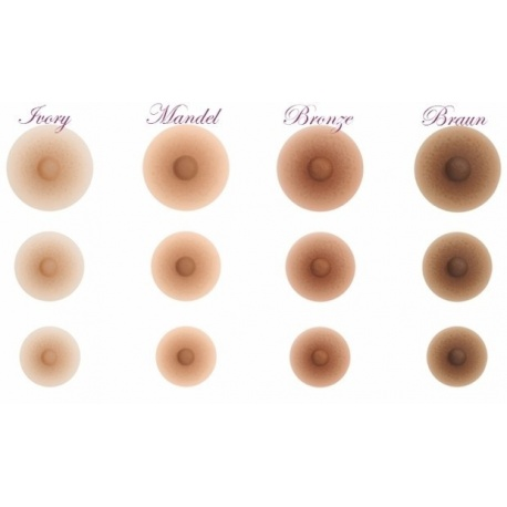 Nipples Amolux, Accessories for breasts, gluing & cleaning