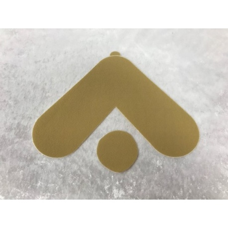 Adhesive strips for Classic Velcro silicone breasts, Accessories for breasts, gluing & cleaning