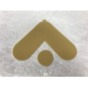 Adhesive strips for Classic Velcro silicone breasts