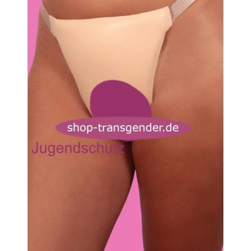 V-String penetrier- und verstellbar, Vagina