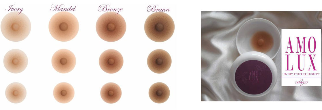 Amolux Brustwarzen