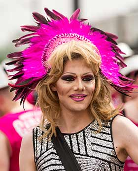 Drag Queen Gay Pride 2015